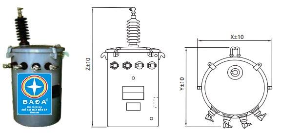 cấu tạo máy biến áp 1 pha